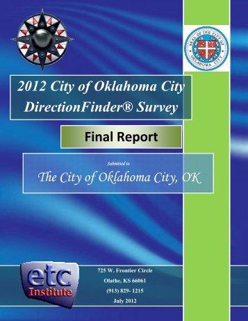 2012 City of Oklahoma City Citizen Survey