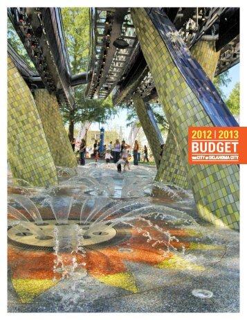 fy 2012-2013 adopted budget.pdf - City of Oklahoma City