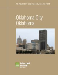 Oklahoma City Oklahoma - Urban Land Institute