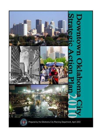 Downtown Strategic Action Plan 2010 - City of Oklahoma City