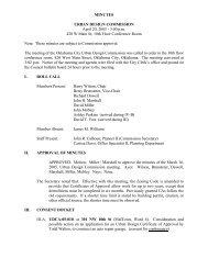 MINUTES URBAN DESIGN COMMISSION April 20, 2005 - City of ...