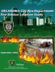 Fire Station Location Study - City of Oklahoma City