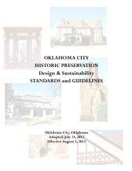 Guidelines - City of Oklahoma City