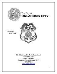 """We Serve With Pride"" - City of Oklahoma City"