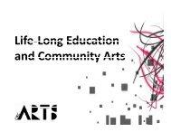 Life-Long Education and Community Arts - City of Oklahoma City