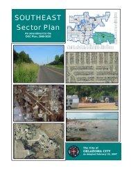 SOUTHEAST Sector Plan - City of Oklahoma City