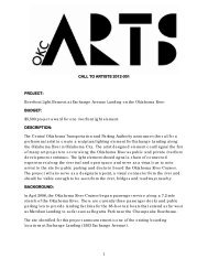 1 CALL TO ARTISTS 2012-001 PROJECT: Riverfront Light Element ...