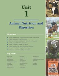 Animal Nutrition and Digestion (PDF file, 5.95 MB)