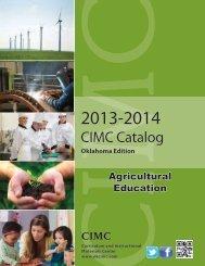 CIMC Catalog - Oklahoma Department of Career and Technology ...