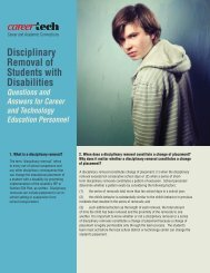 Disciplinary Removal of Students with Disabilities - Oklahoma ...