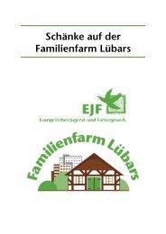 Unsere Sommerkarte - Familienfarm Lübars