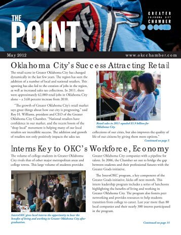30 free Magazines from OKCCHAMBER