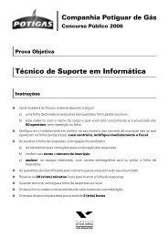Técnico de Suporte em Informática - Concursos Públicos