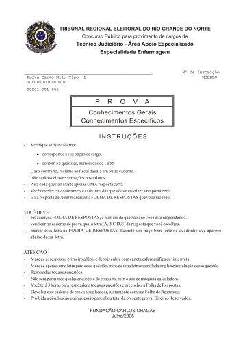 P R O V A - Concursos Públicos
