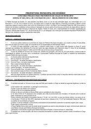 EDITAL Prefeitura de Eusébio - Concursos Públicos