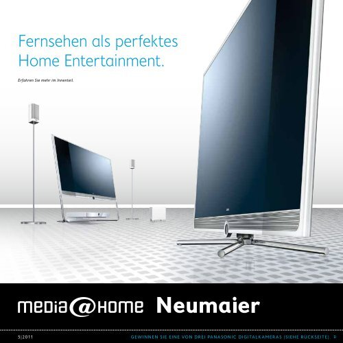 Fernsehen als perfektes Home Entertainment. - Elektro Neumaier