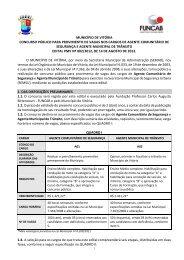 Edital - Concursos Públicos