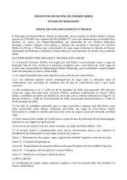 PREFEITURA MUNICIPAL DE PINDARÉ-MIRIM ESTADO DO ...