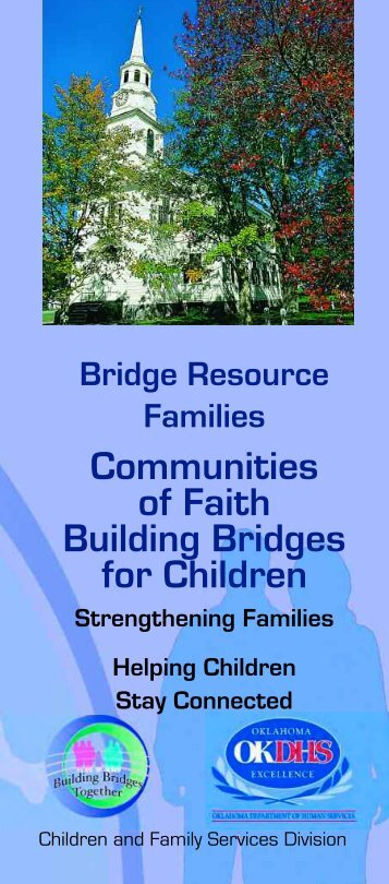 Bridge Resource Families Communities of Faith Building Bridges for ...