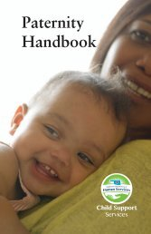 Paternity Handbook - Oklahoma Department of Human Services