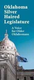 Oklahoma Silver Haired Legislature - A Voice for Older Oklahomans