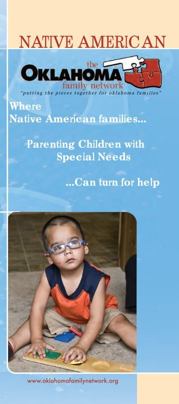 Native American - Oklahoma Department of Human Services