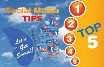 Social Media Tips Top 5