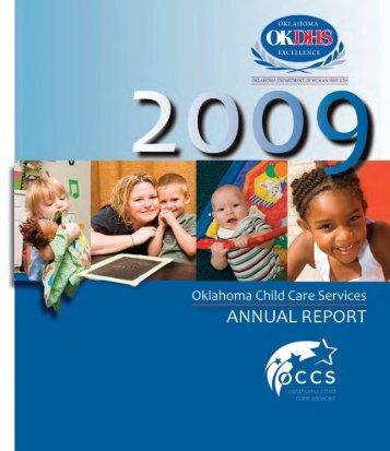 2009 Oklahoma Child Care Services Annual Report