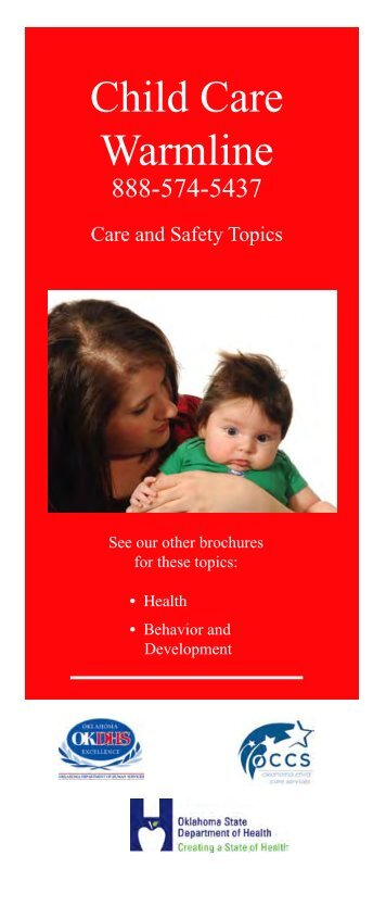 Child Care Warmline - Oklahoma Department of Human Services