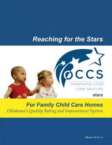 Reaching for the Stars For Family Child Care Homes - Oklahoma ...