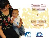 Oklahoma Core Competencies for Early Childhood Practitioners (.pdf
