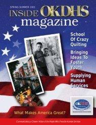 2002 Spring - Summer Magazine - Oklahoma Department of Human ...
