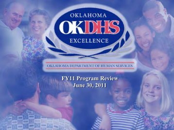 FY11 Program Review June 30, 2011 - Oklahoma Department of ...