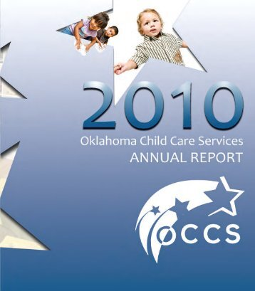 2010 Oklahoma Child Care Services Annual Report