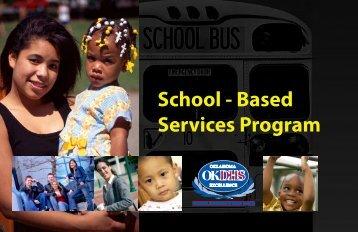 School - Based Services Program - Oklahoma Department of ...