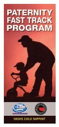 Paternity Fast Track Program - Oklahoma Department of Human ...