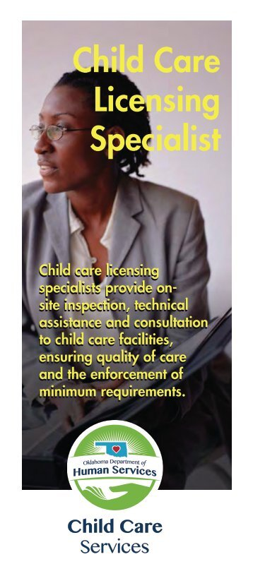 Child Care Licensing Specialist - Oklahoma Department of Human ...