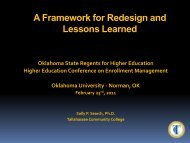 A Framework for Course Redesign and Lessons Learned