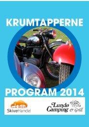 KRUMTAPPERNE PROGRAM 2014