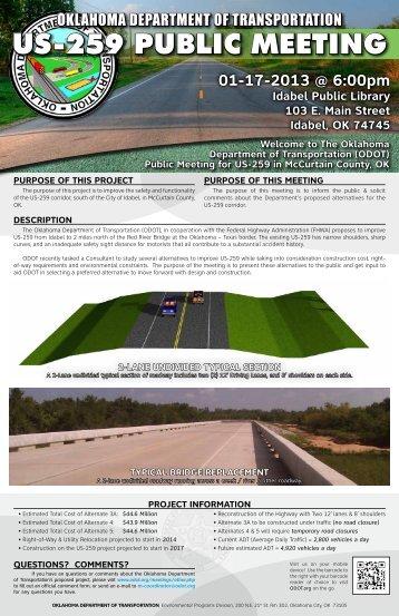 brochure - Oklahoma Department of Transportation