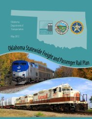 Oklahoma Statewide Freight and Passenger Rail Plan