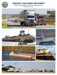 Freight & Goods Movement - Oklahoma Department of Transportation