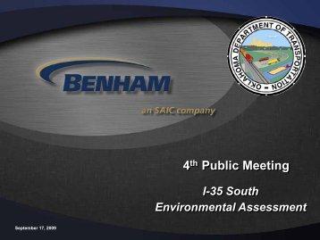 4th Public Meeting - Oklahoma Department of Transportation