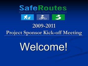 Project Sponsor Kick-off Meeting