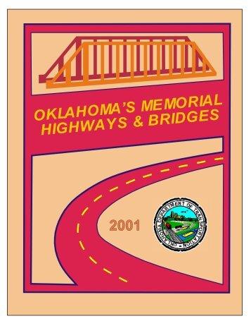 2001 - Oklahoma Department of Transportation