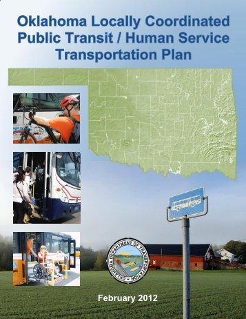 JARC Coordination Plan - Oklahoma Department of Transportation