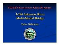 I-244 Arkansas River Multi-Modal Bridge - Oklahoma Department of ...