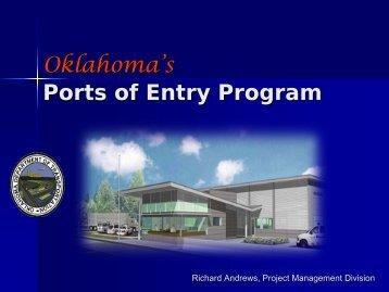 Oklahoma's Ports of Entry Program - Oklahoma Department of ...