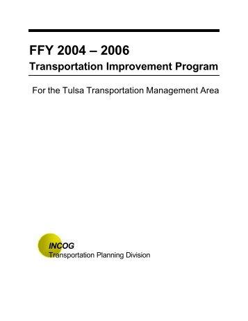 FFY 2004 – 2006 Transportation Improvement Program - Oklahoma ...