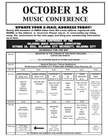 OCTOBER EXTRA 2012 small.pdf - Oklahoma Music Educators ...